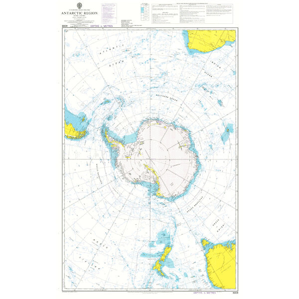 A Planning Chart for the Antarctic Region. UKHO4009