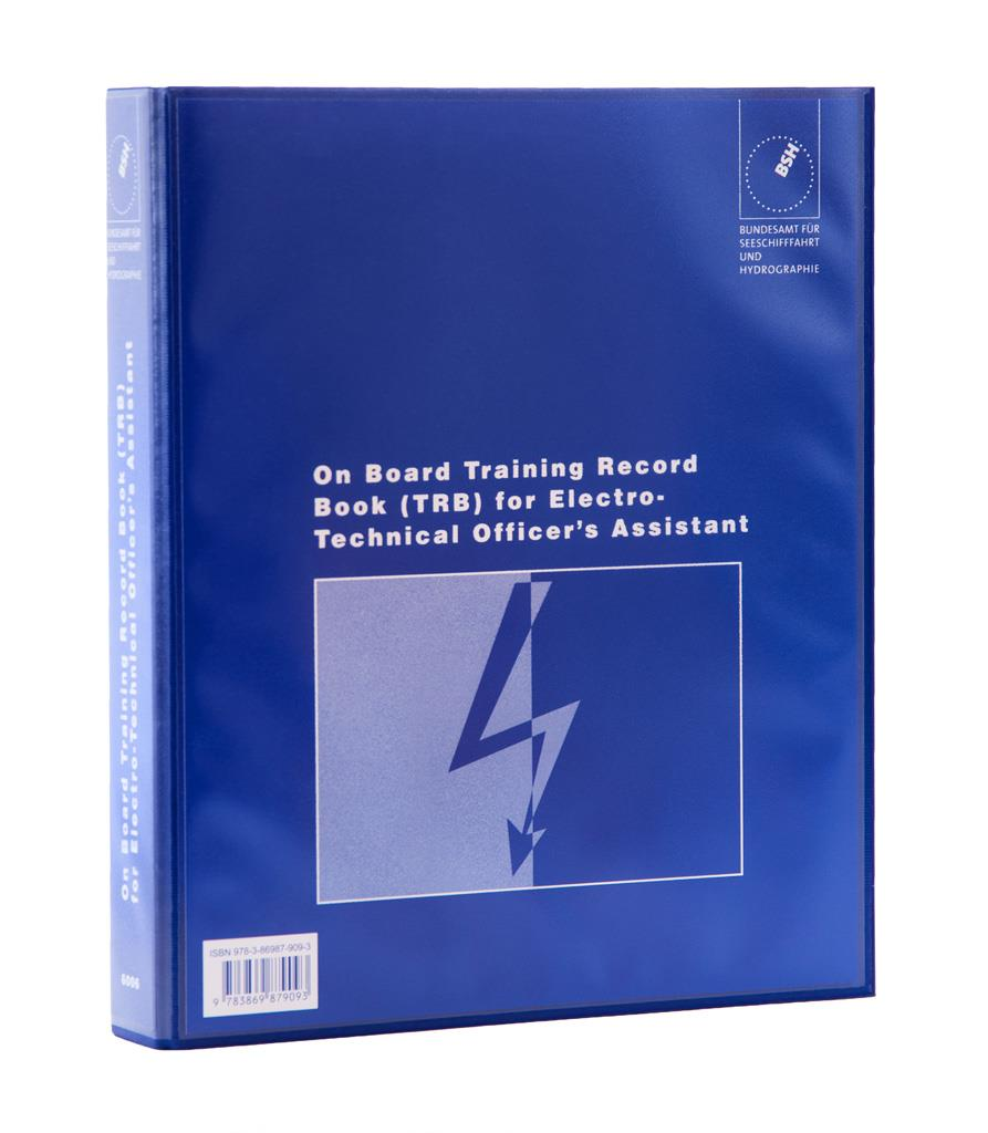 On Board Training Record Book for Electro-Technical Officer's Assistant