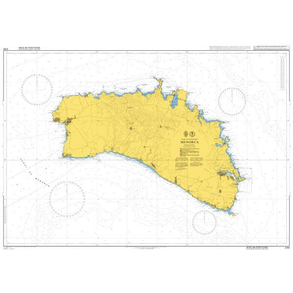 Menorca. UKHO2761
