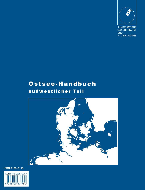 Ostsee Seehandbuch, südwestlicher Teil (BSH)