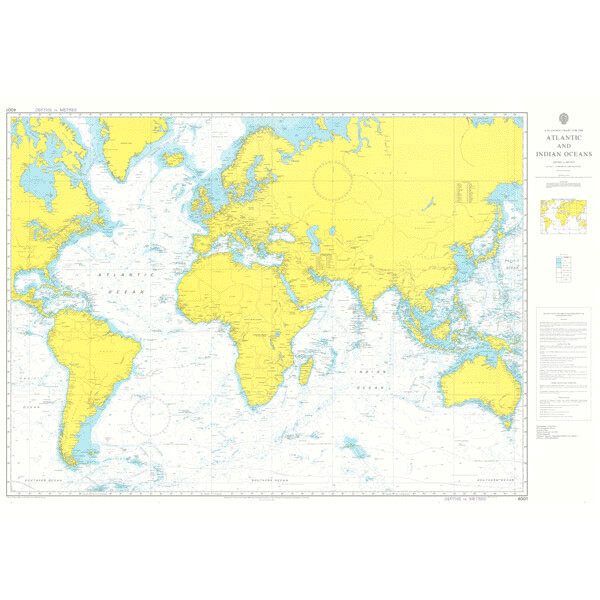 A Planning Chart for the Atlantic and Indian Oceans. UKHO4001