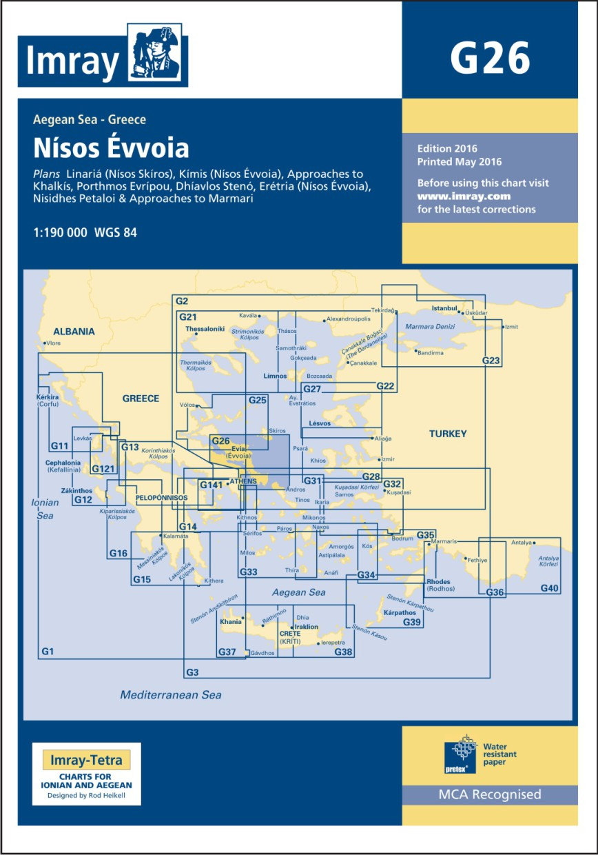 IMRAY CHART G26 Nisos Evvola