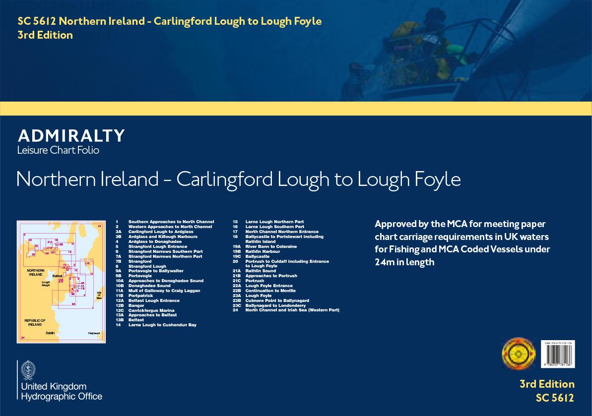 SC5612 Northern Ireland, Carlingford Lough to Lough Foyle