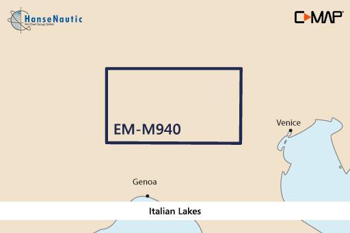 C-MAP MAX Local EM-M940 Italian Lakes