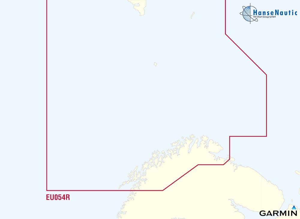 BlueChart Spitzbergen, Nord-Norwegen (Vestfjd-Svalbard-Varanger) g3 XEU054R