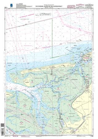 BSH 1160 Osterems, Borkum bis Norderney