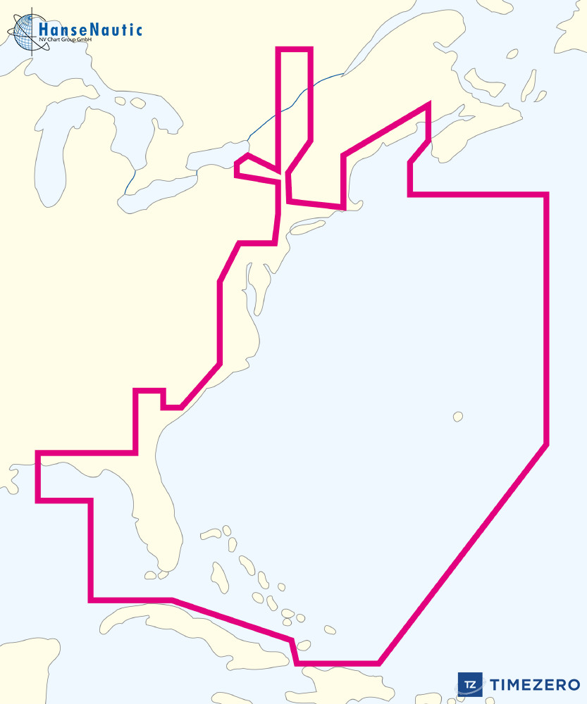 Mapmedia WVJNAM022MAP mm3d C-MAP by Jeppesen