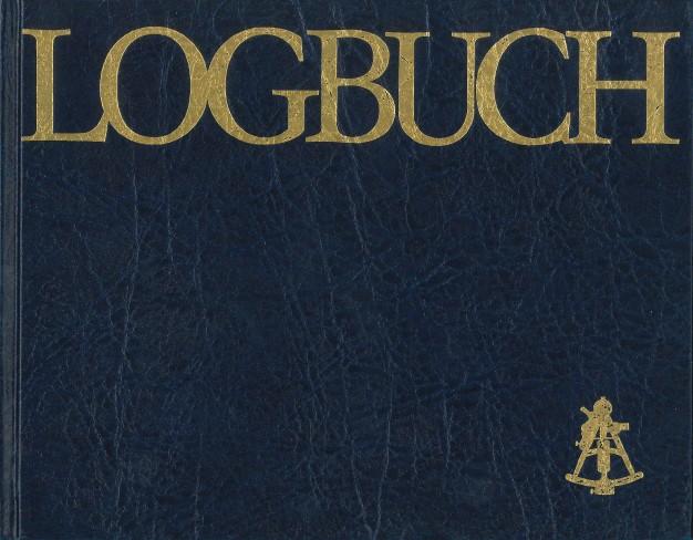 Logbuch Segelyacht (blau)