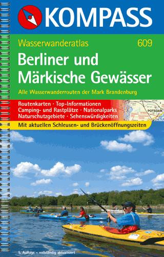 Wasserwanderatlas Berliner und Märkische Gewässer