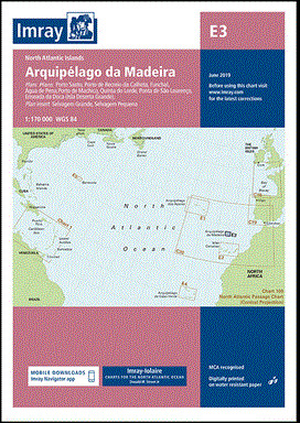 IMRAY CHART E3 Arquipélago da Madeira