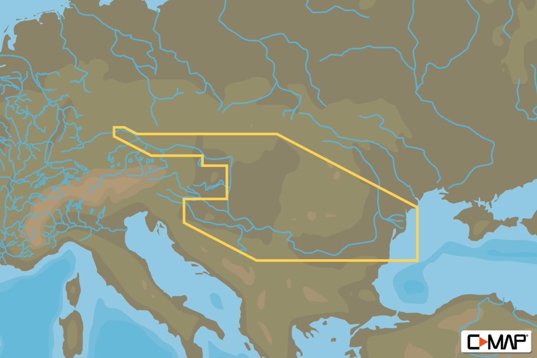 C-MAP MAX Wide EN-M082 River Danube