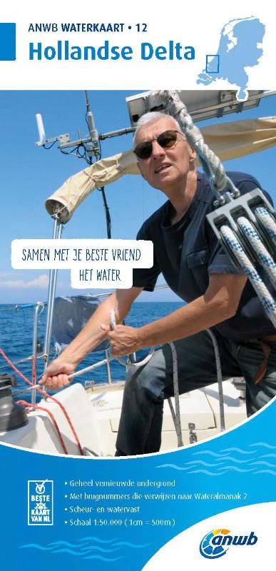 ANWB Waterkaart 12 - Hollandse Delta
