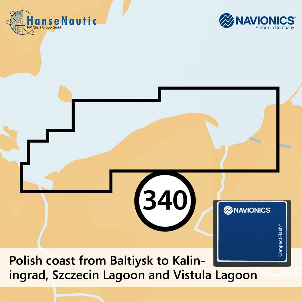 Navionics+ CF Küstengewässer Polen (5G340S2)
