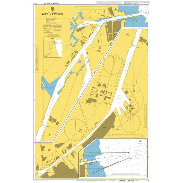 Port of Ravenna. UKHO1445
