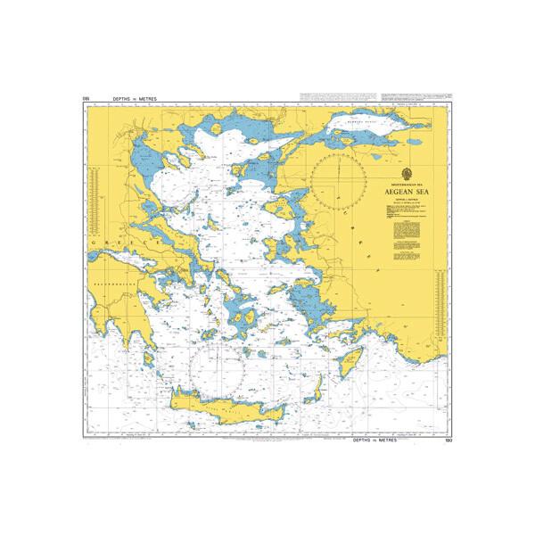 Aegean Sea. UKHO180