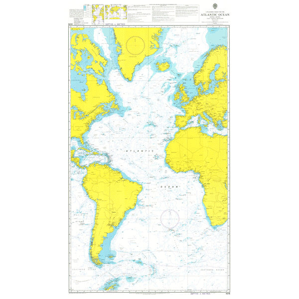 A Planning Chart for the Atlantic Ocean. UKHO4015