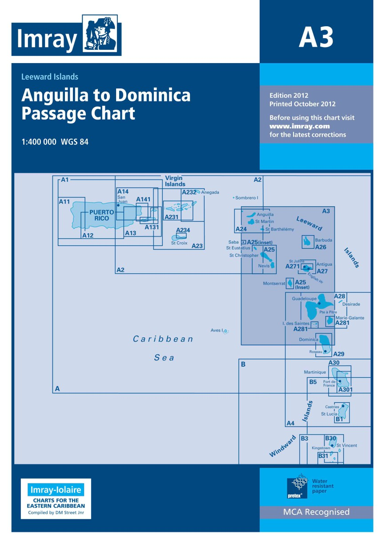 IMRAY CHART A3 Anguilla to Dominica