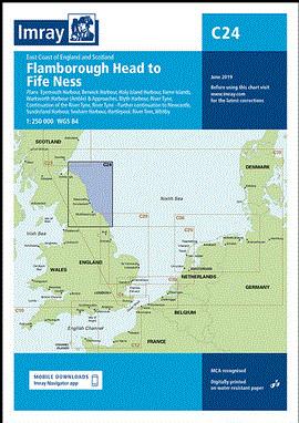 IMRAY CHART C24 Flamborough Head to Fife Ness