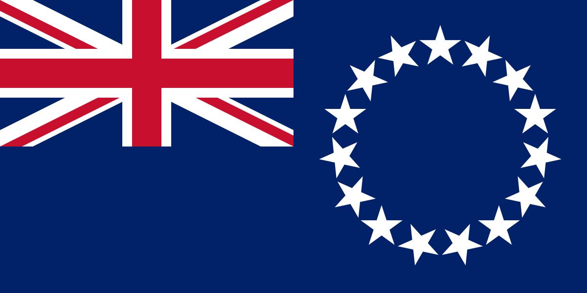 Flagge Cook Islands