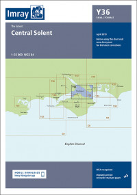IMRAY CHART Y 36 Central Solent