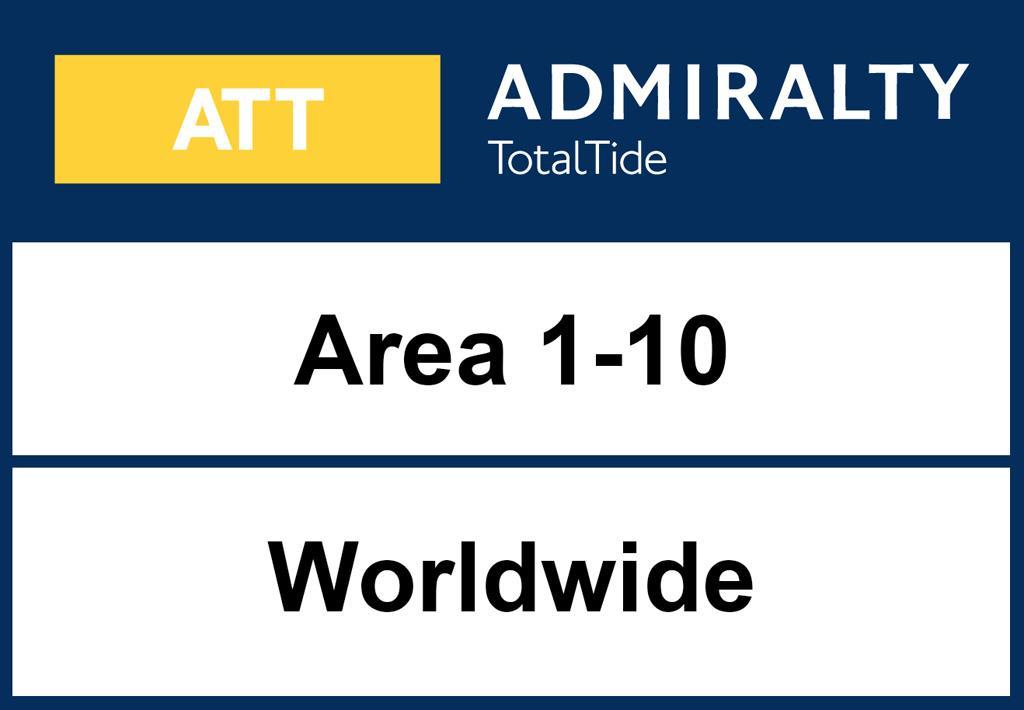 INAKTIV ADMIRALTY TotalTide Area 1-10 worldwide