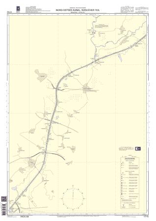 BSH 1710 Nord-Ostsee-Kanal, südlicher Teil