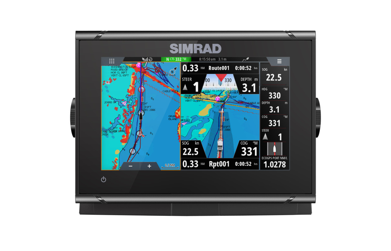 Simrad GO7 XSR Kartenplotter mit HDI Transducer