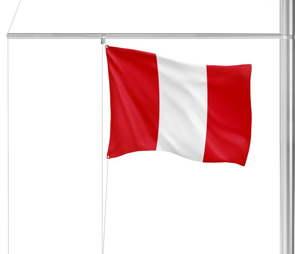 Flagge Peru o. Wappen