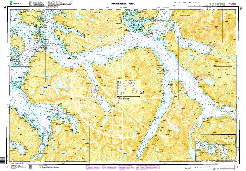 Norwegen N 125 Atlantik von Haugsholmen bis Volda