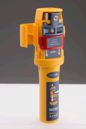 MOB1 AIS-Notfallsender rescueMe mit GPS und DSC Alarmierung Ocean Signal
