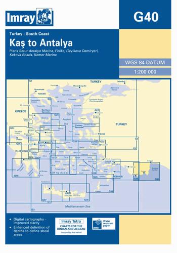 IMRAY CHART G40 Kas to Antalya