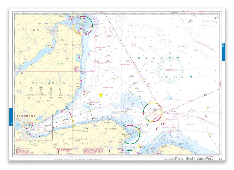 NV Einzelkarte S3 Kieler Bucht Süd/West