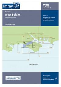 IMRAY CHART Y 38 West Solent
