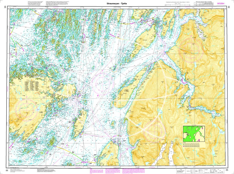 Norwegen N 55 Atlantik Stroemøoeyan - Tjoetta