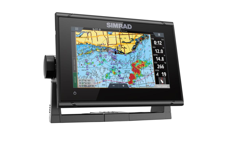 Simrad GO7 XSR Kartenplotter ohne Transducer