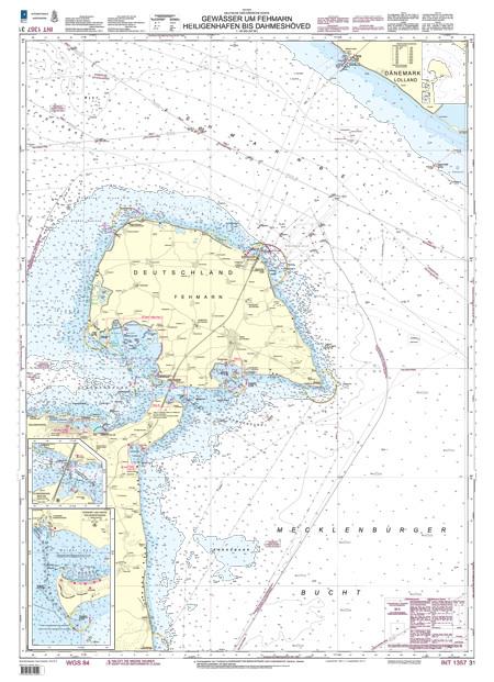 BSH 31 Gewässer um Fehmarn, Heiligenhafen bis Dahmeshöved