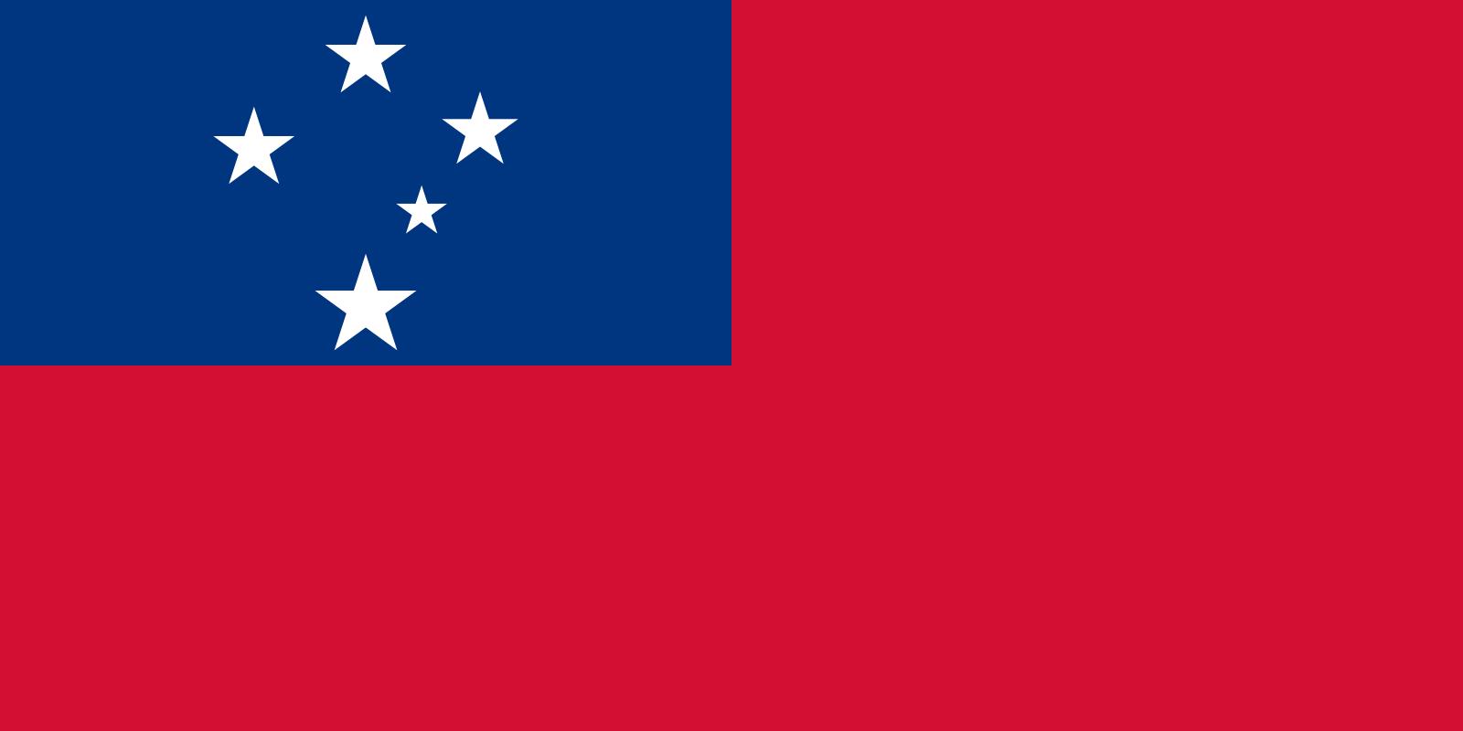 Flagge Samoa Ost