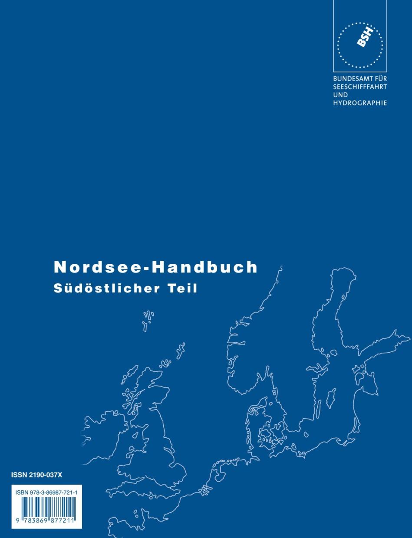 Nordsee Seehandbuch, südöstlicher Teil (BSH)