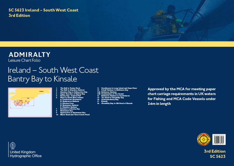 SC5623 Ireland - South West Coast, Bantry Bay to Kinsale