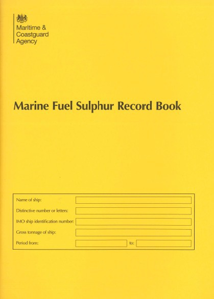 Marine Fuel Sulphur Record Book (MCA)