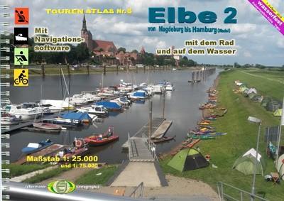 TourenAtlas TA8: Elbe 2