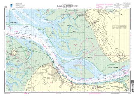BSH 1610 Elbmündung mit Cuxhaven
