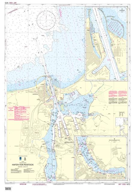 BSH 1672 Hafen von Rostock