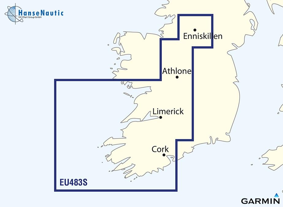 BlueChart g3 Vision Chip Small VEU483S-Galway Bay-Cork