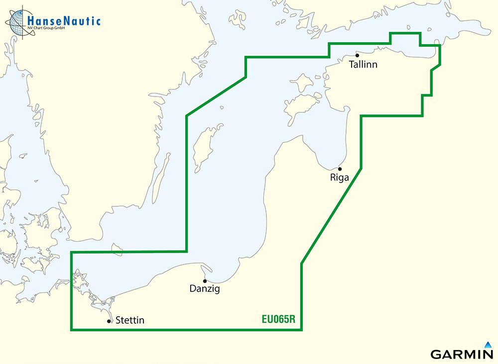 BlueChart Ostseeküste Polen - Estland (Baltic Sea East Coast) g3 XEU065R