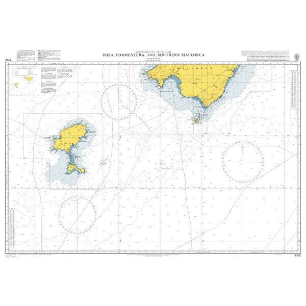 Ibiza, Formentera and Southern Mallorca. UKHO1702