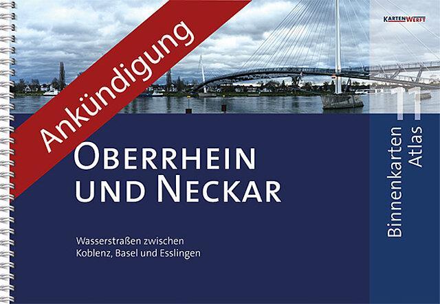 Binnenkarten Atlas 11 - Oberrhein, Koblenz bis Rheinfelden