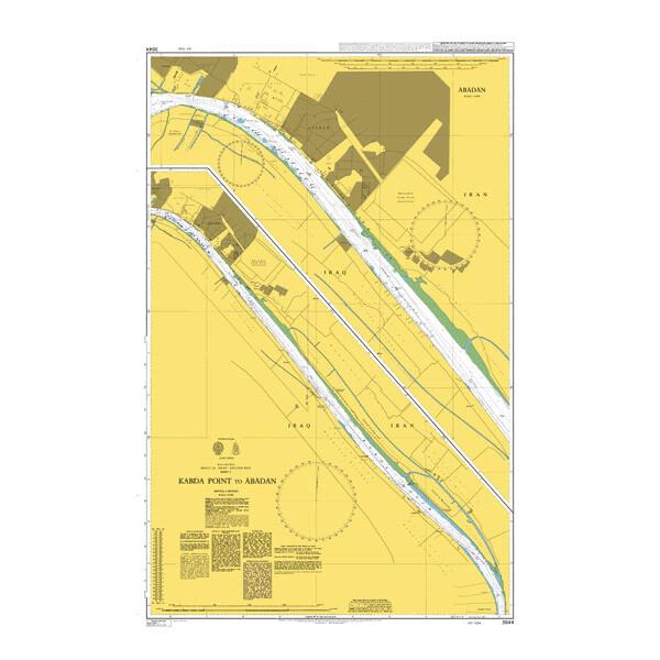 Kabda Point to Abadan. UKHO3844