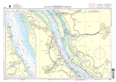 BSH 1650 Die Elbe von Pagensand bis Stadersand