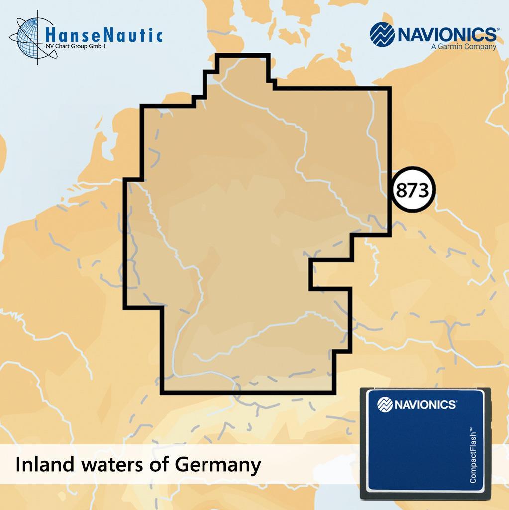 Navionics+ CF Deutschland Binnenreviere (5G873S)